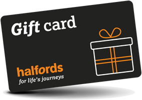 Halfords Gift Card